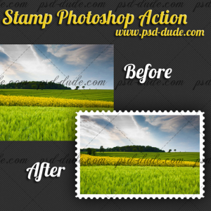 15 Frame Photoshop Actions Images