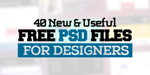 Free Photoshop PSD Files