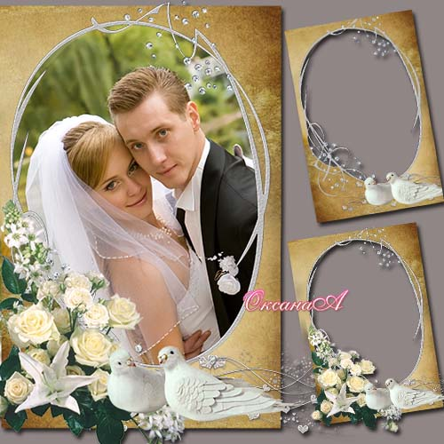 8 Indian Wedding PSD Frames For Photoshop Free Download Images