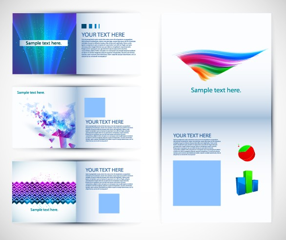 Free Vector Brochure Design Templates