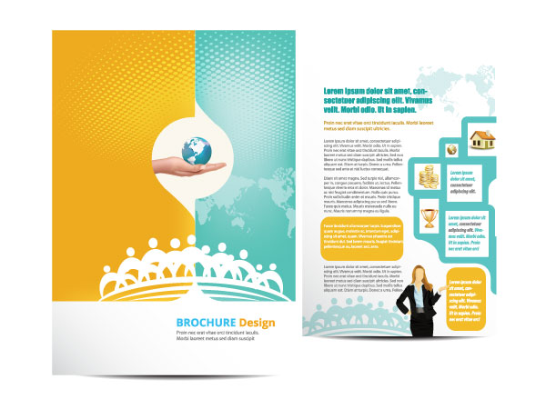 16 Vector Brochures Templates Images