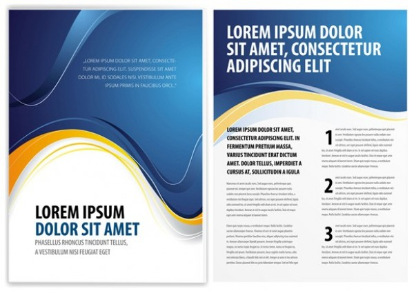 Free Vector Brochure Templates