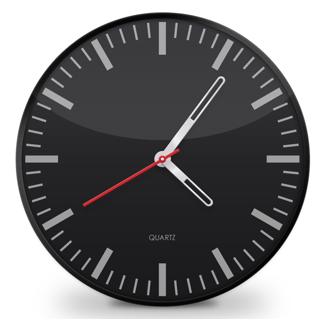 Free Vector Clock Face