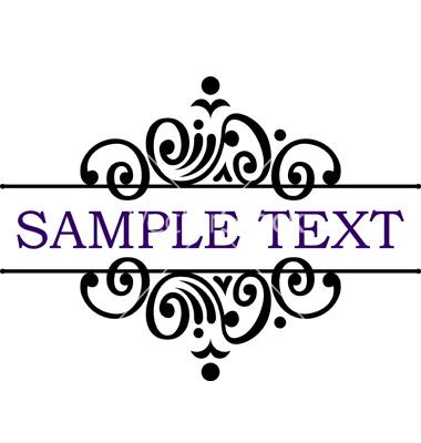 Free Vector Text Frame