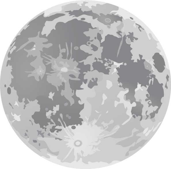 9 Moon Vector Art Images