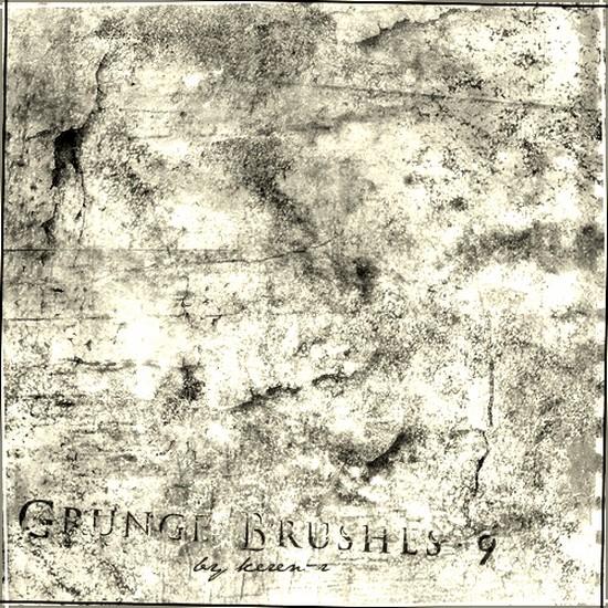 Grunge Brushes Photoshop