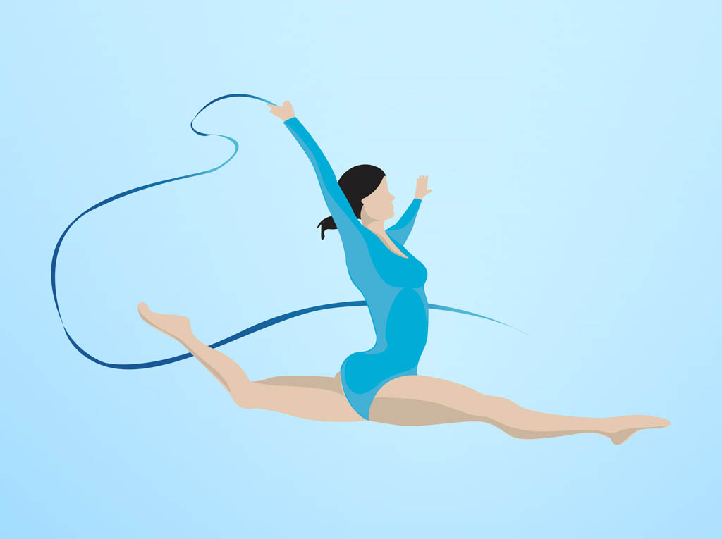 15 Gymnastics Vector Art Images