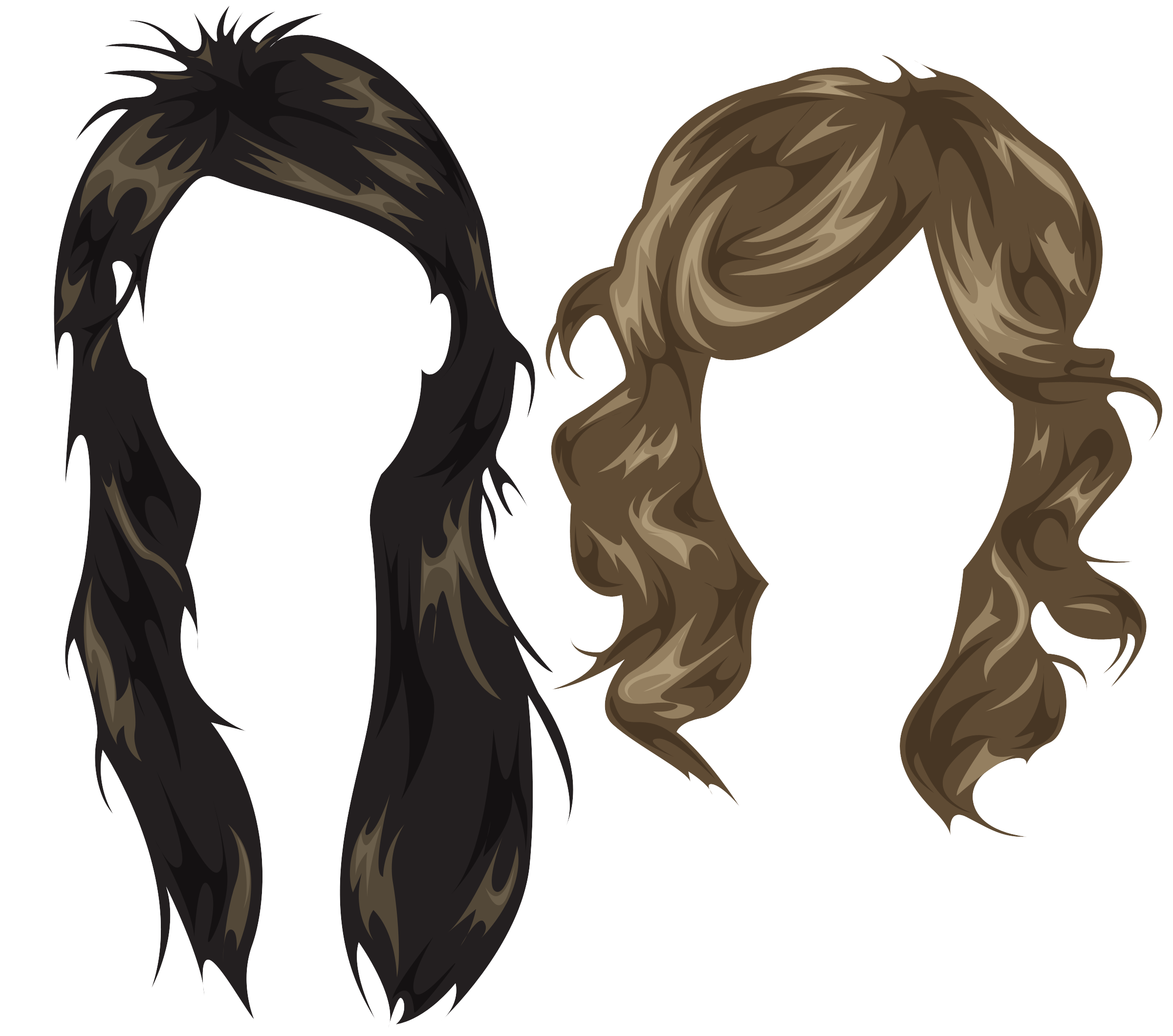Hair PSD Photoshop Styles