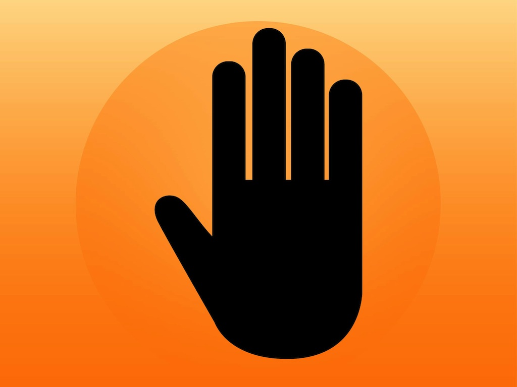 Hand Icon Vector Free