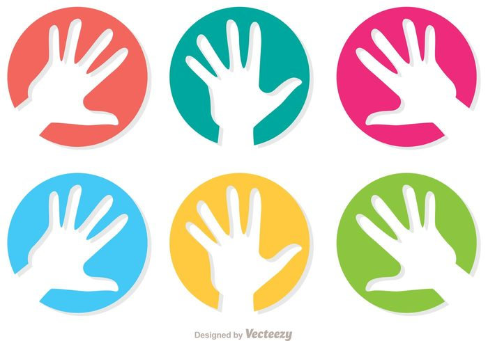 Helping Hands Vector Free