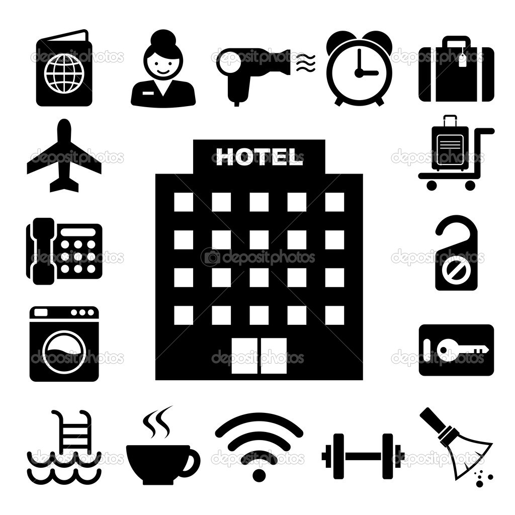 19 Hotel Icon Vector Images - Hotel Building Icon, Vector ...