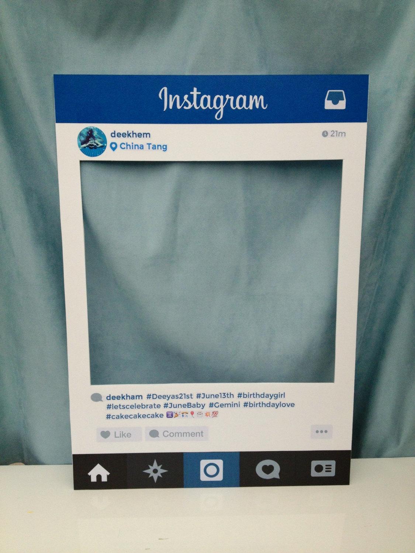14 Instagram Frame Prop Template Psd Images Instagram