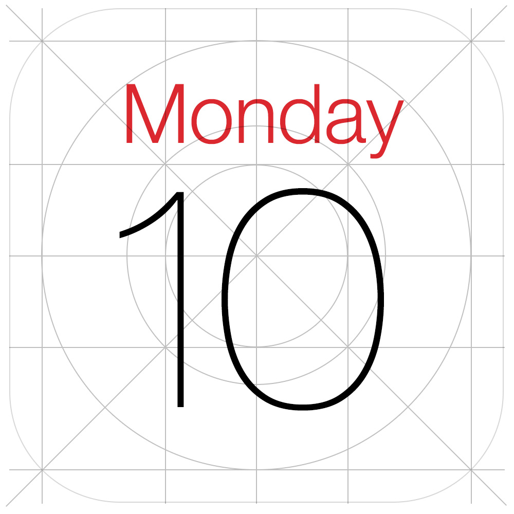 8 IOS 7 Calendar Icon Images