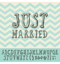 Just Married Fonts Free