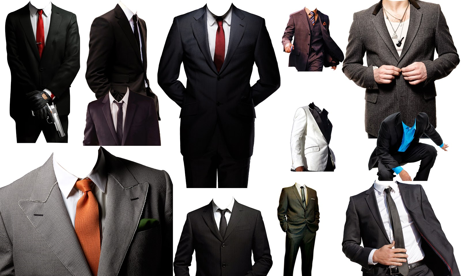Man Dress PSD Files Download
