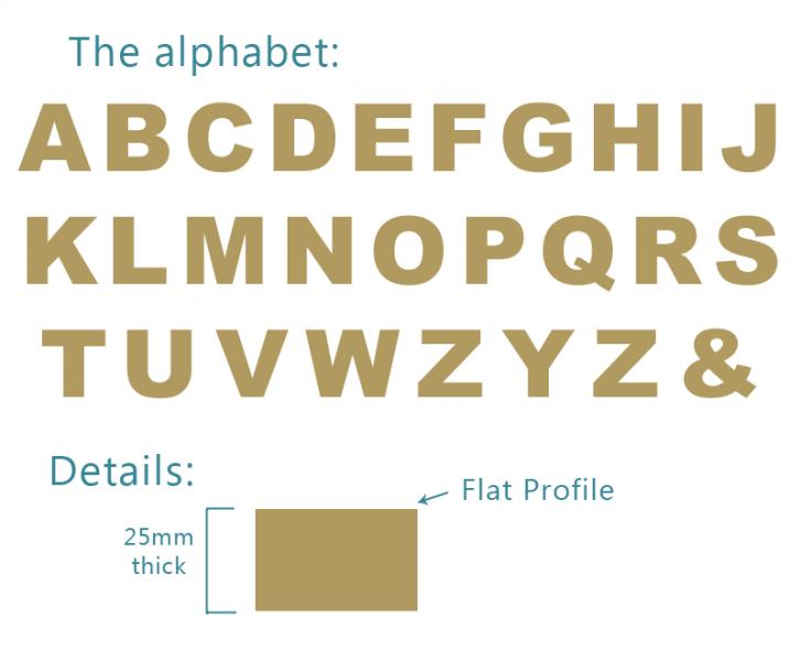 14 Modern Block Font Images