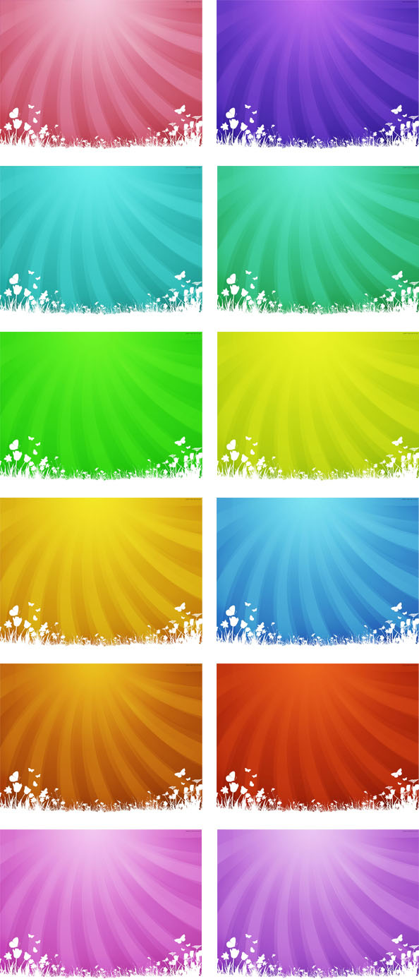 Nature Backgrounds Free Business Cards