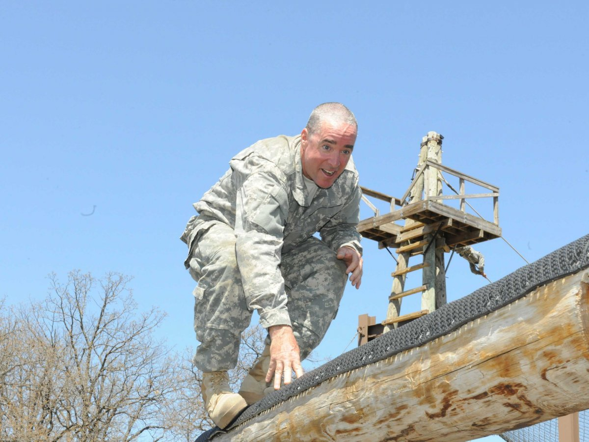 Old Army Basic Training