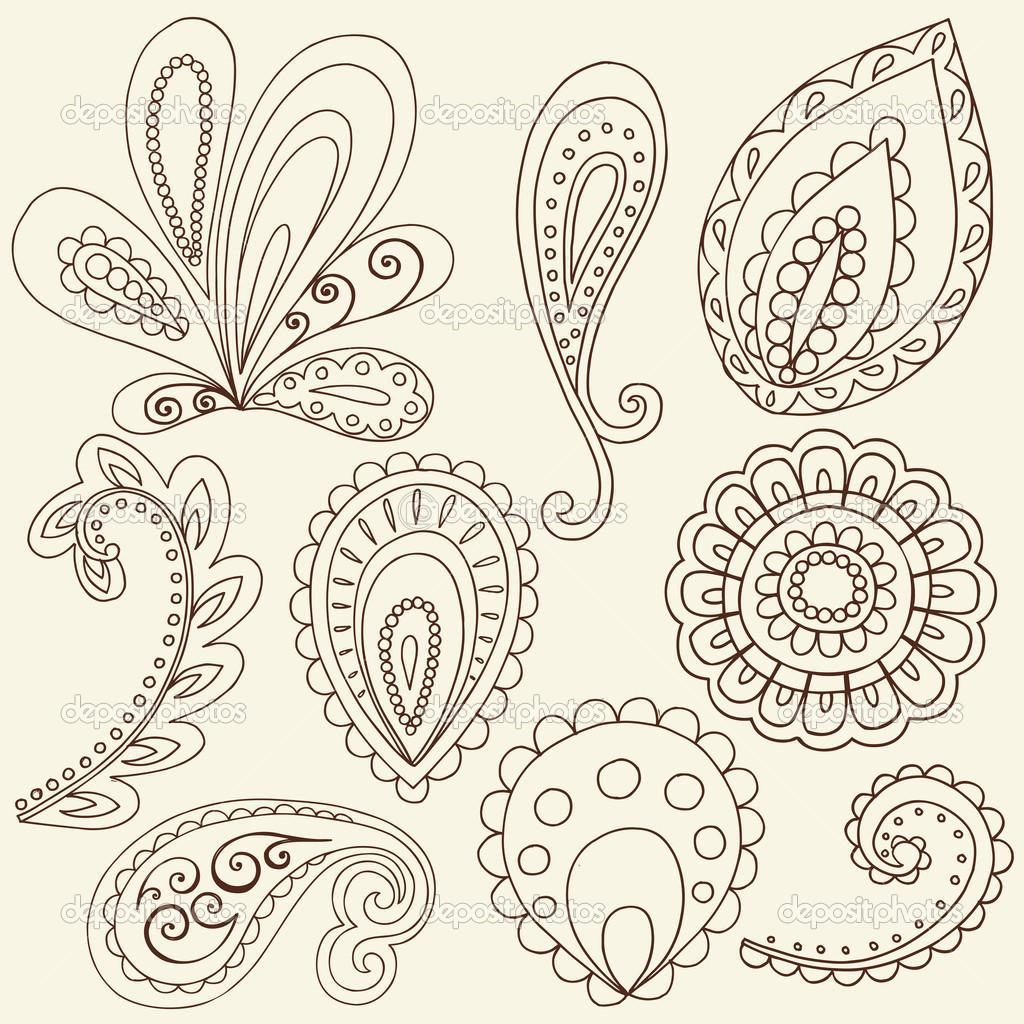 Single Flower Mehndi Designs : Single flower henna designs makedes
