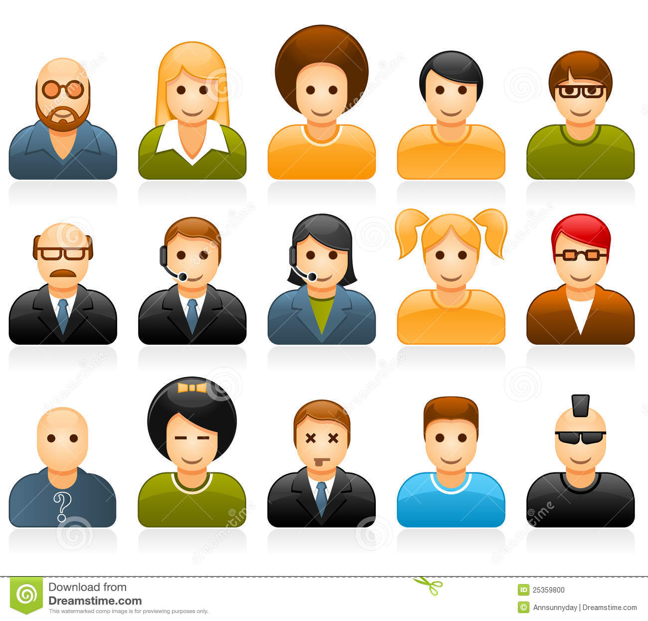 People Avatar Icons Free