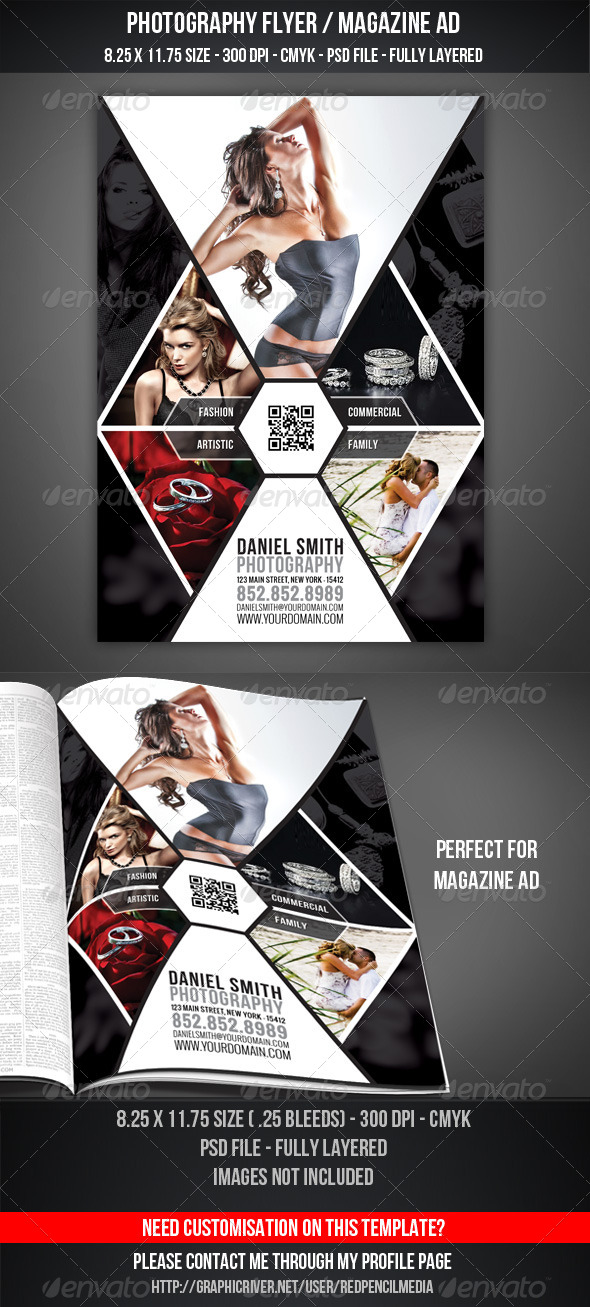 Photography Ads Flyers