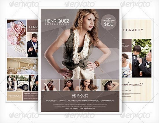 Photography Business Flyer Templates