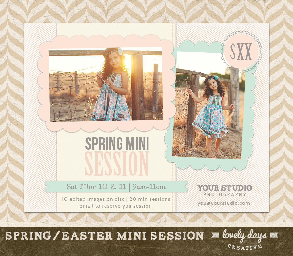 Photography Mini Session Flyer
