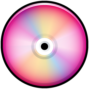 Pink CD Icon