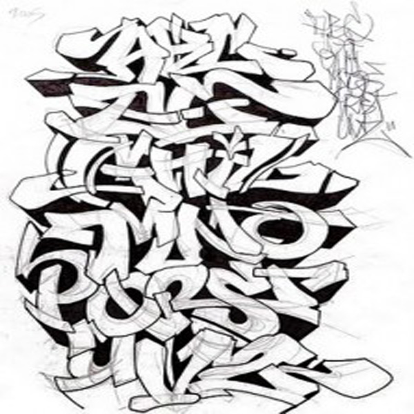 13 All Graffiti Fonts Images