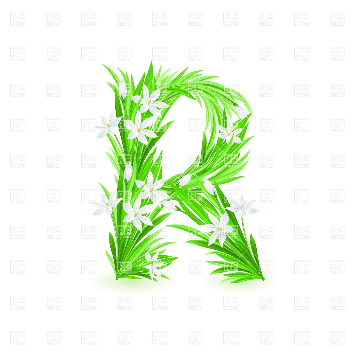 R Letter Font Free Download