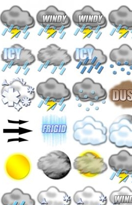 Rain Snow Weather Icon