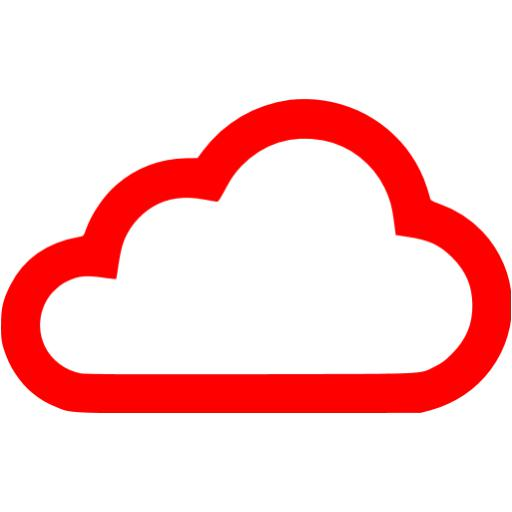 Red Cloud Icon