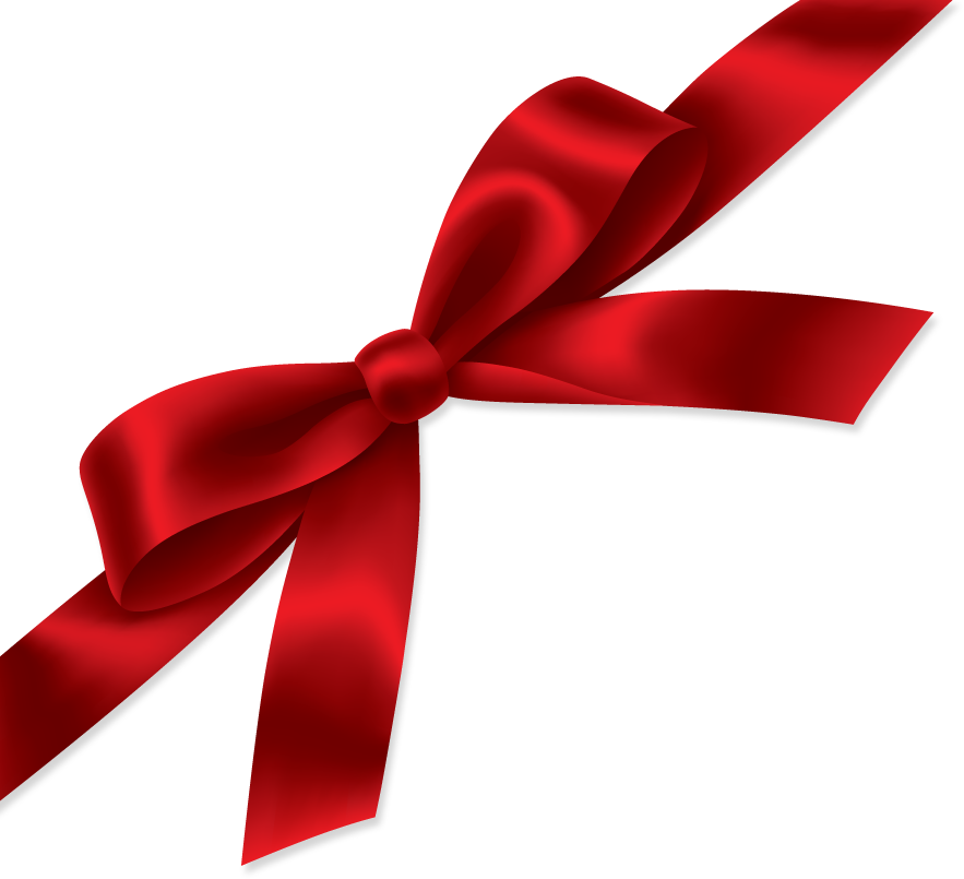 14 Gift Ribbon Vector PNG Images
