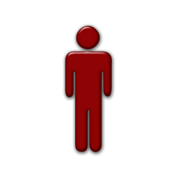 Red Person Icon