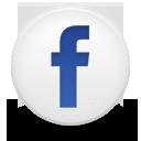Round Facebook Icon Social Media
