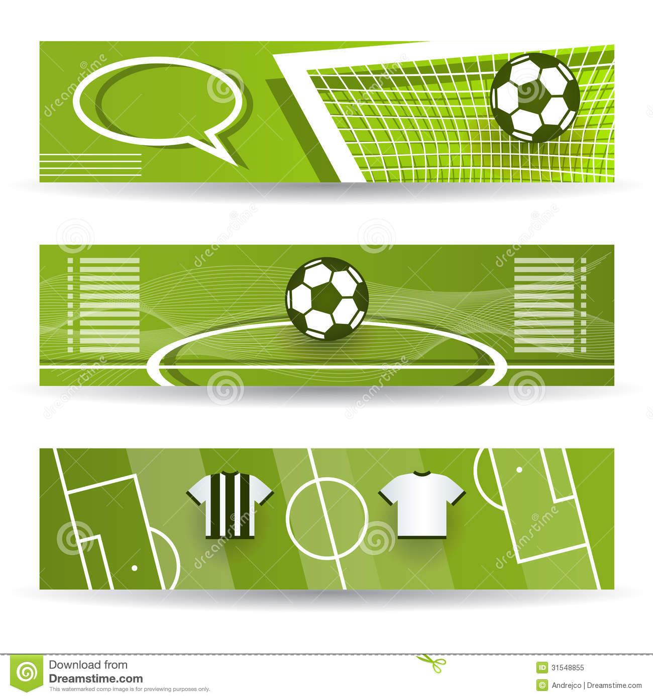 Royalty Free Images Soccer Banner