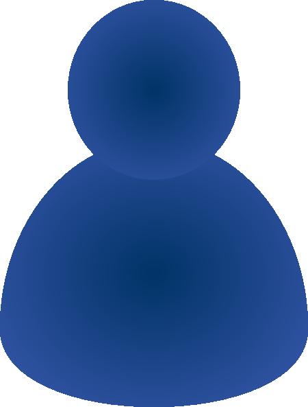 Single User Icon Clip Art