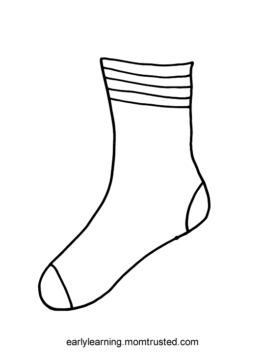 Critical image for fox in socks printable
