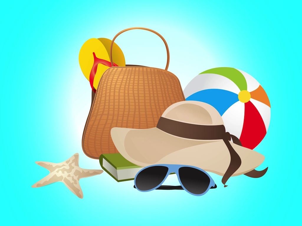 13 Summer Vacation Vector Art Images