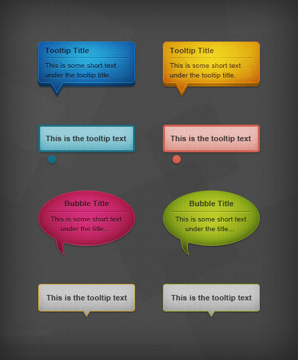 Text Speech Bubble Template