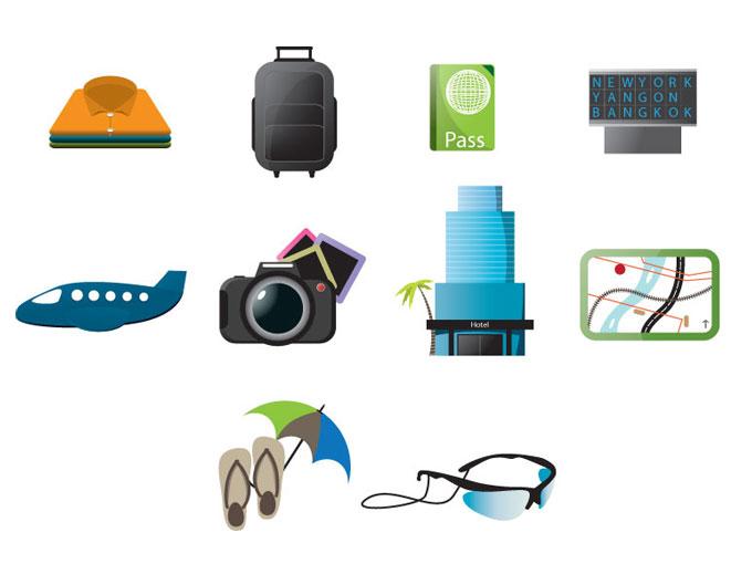 Travel Icons Free