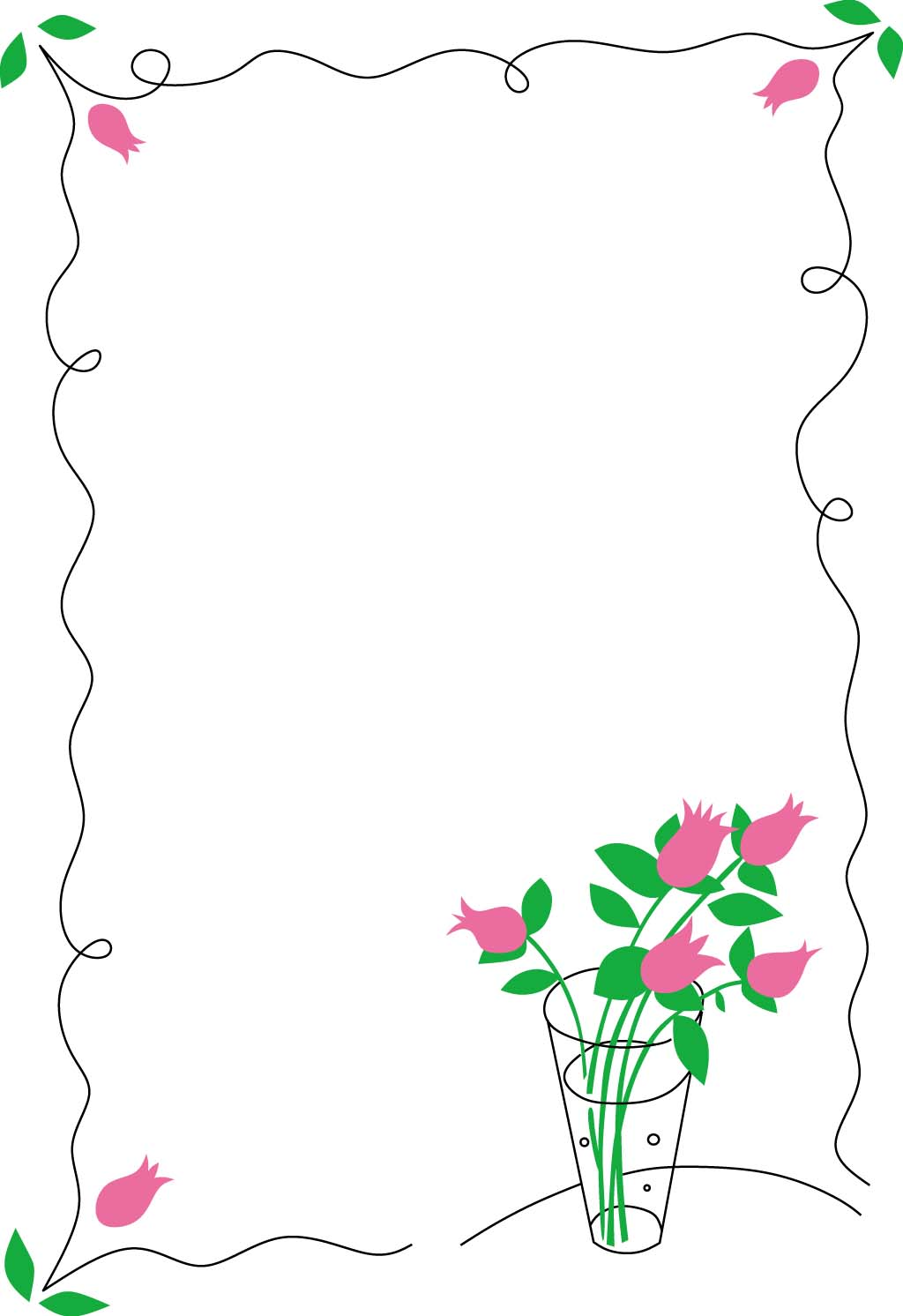 20 Floral Border Vector Images - Free Floral Vector ...