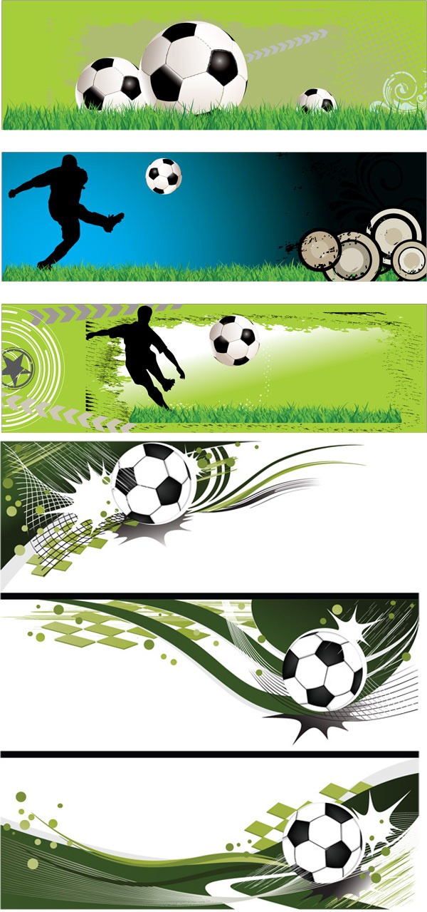 Vector Football Banner