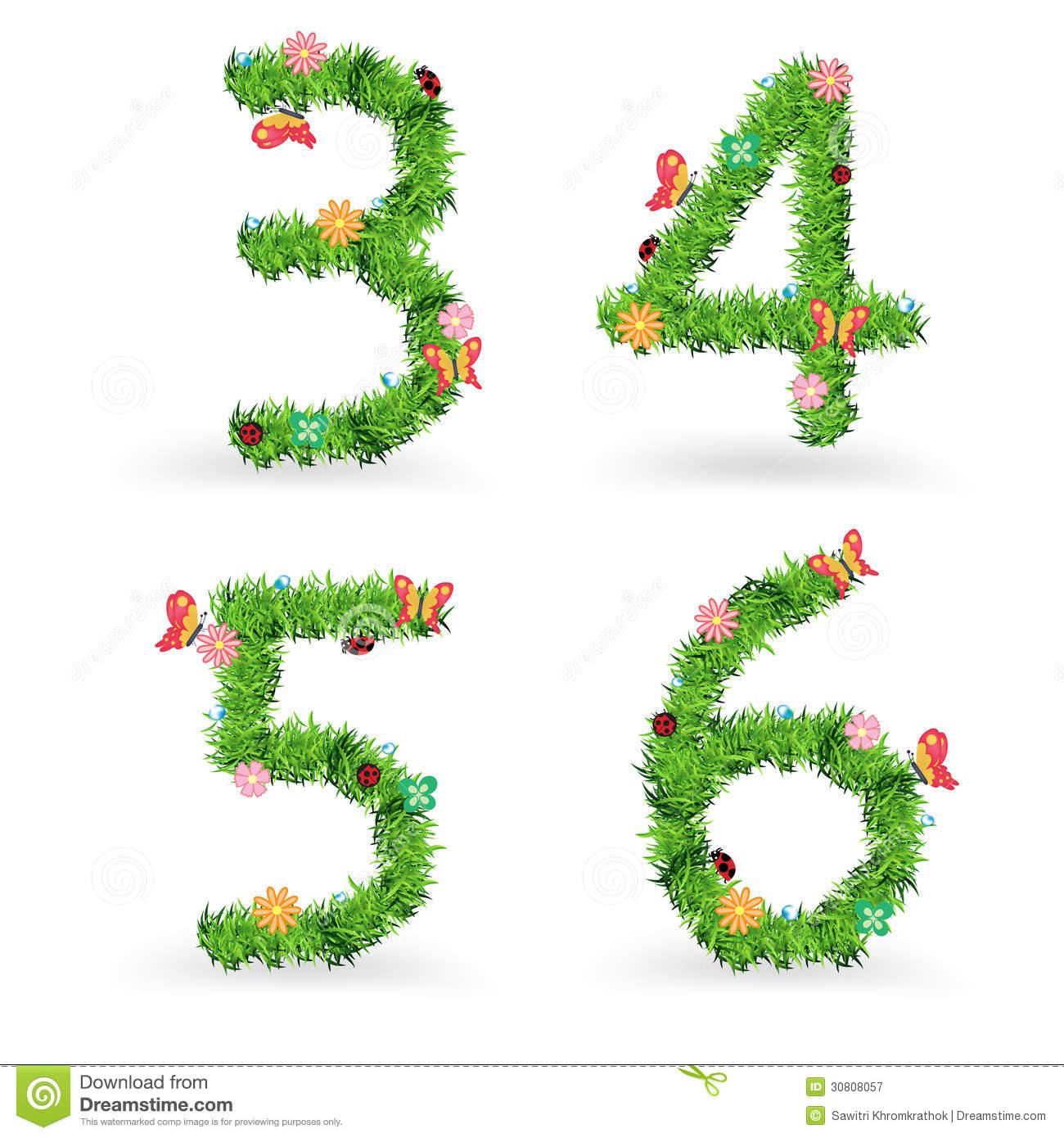 Vector Grass Font