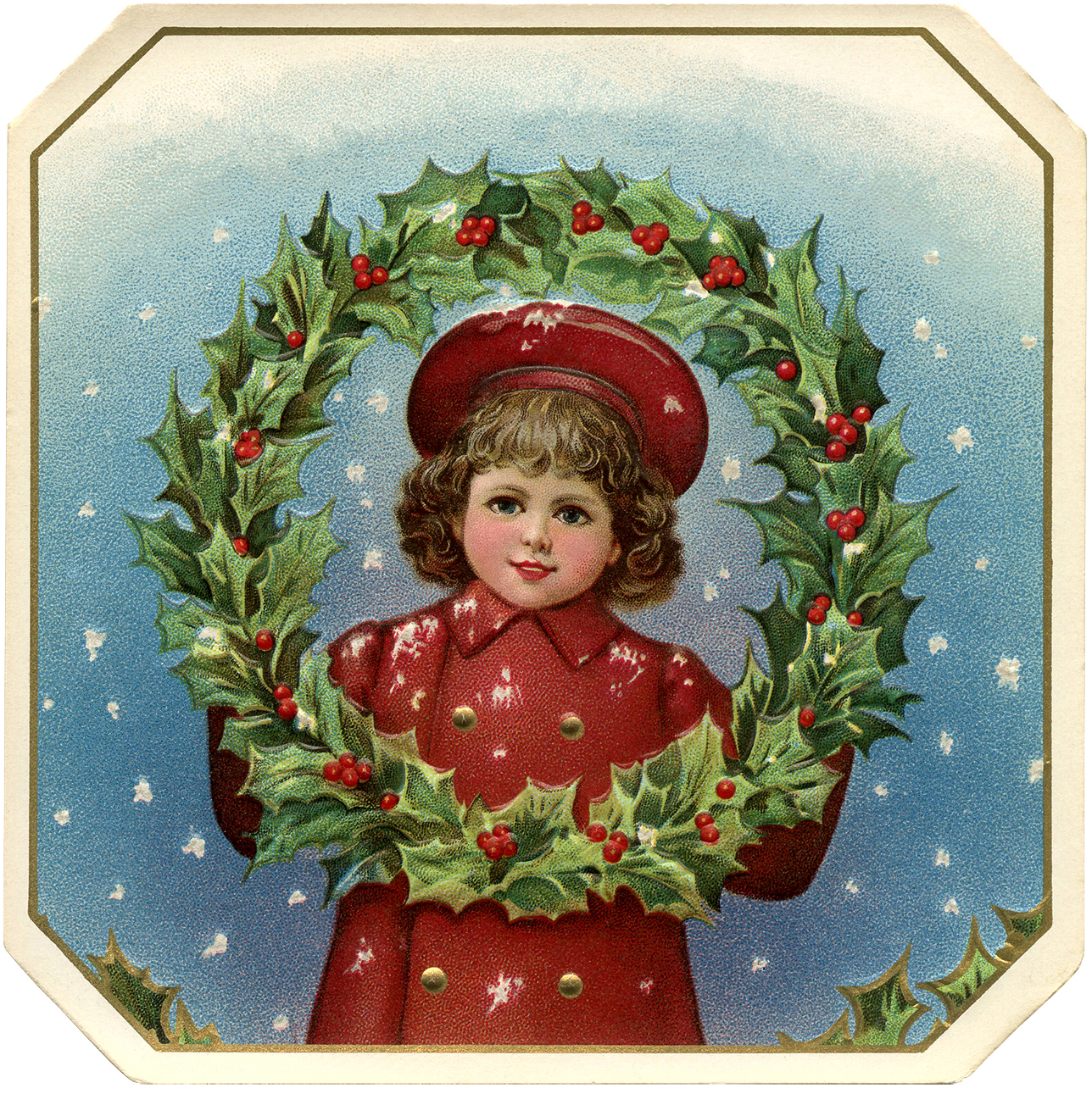 13 Victorian Christmas Graphics Images
