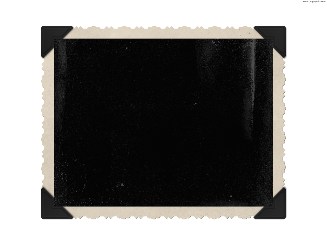 7 Vintage PSD Corners Images