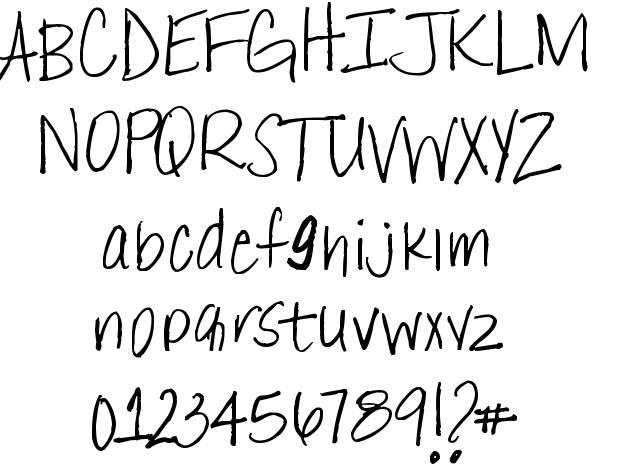 West Coast Lettering Fonts