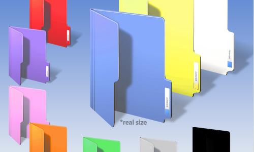Windows Color Folder Icons Free