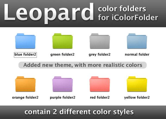 Windows Folder Icon Color