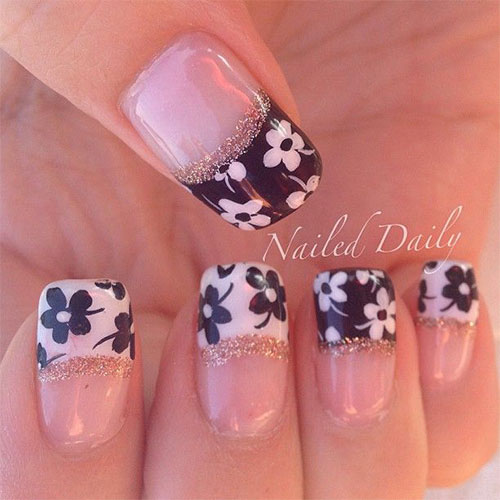 11 Flower Nail Designs 2014 Images Flower Nail Art Design 2014